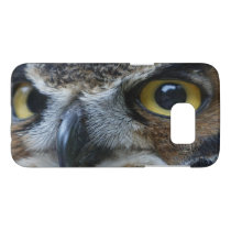 Intense Owl Close Up Samsung Galaxy S7 Case
