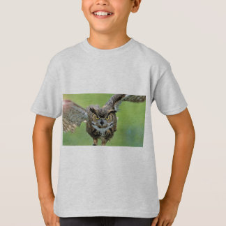 Intense Owl Flying T-Shirt