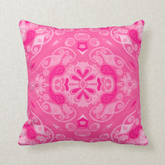 Intense Pink Design Pillow