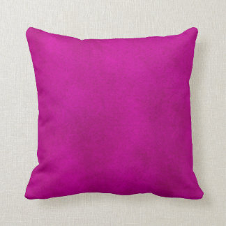 Intense Pink Watercolor Wash Pillow