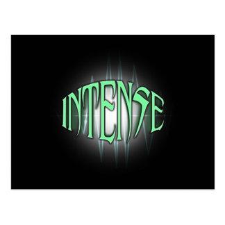 INTENSE POSTCARD