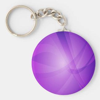 Intense, Purple, Violet, Lilac Keychain
