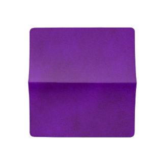 Intense Purple Watercolor Wash Checkbook Cover