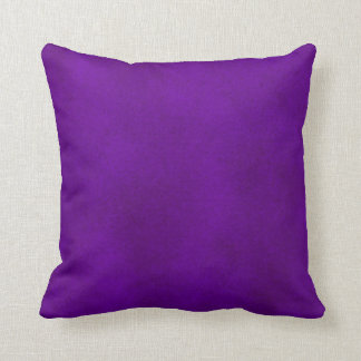 Intense Purple Watercolor Wash Pillow