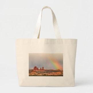 Intense Rainbow Large Tote Bag