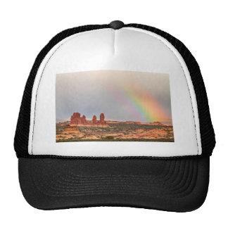 Intense Rainbow Trucker Hat