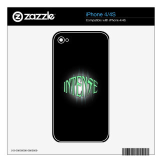 INTENSE SKIN FOR THE iPhone 4