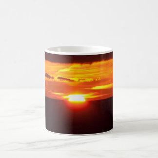 Intense sunset magic mug