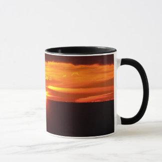 Intense sunset mug