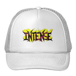 Intense yel/blck logo hat