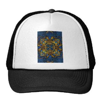 Intensity - contrast mandala pattern trucker hat