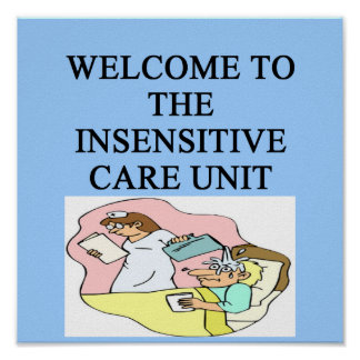 intensive care unit poster