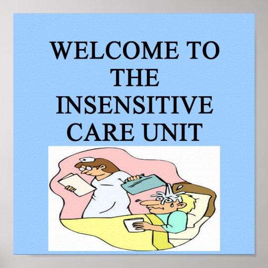 intensive care unit poster