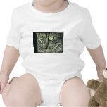Intenso - arte del gato trajes de bebé