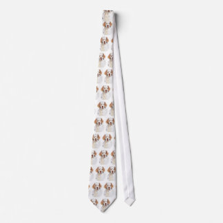 Intent - Clumber Spaniel tie