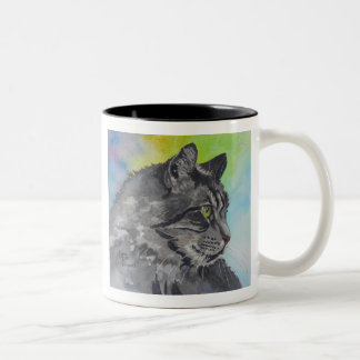 Intent Tabby Two-Tone Coffee Mug