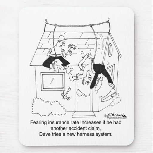 Intentar un nuevo arnés de seguridad alfombrillas de ratones