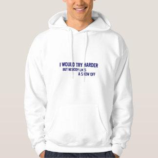 Intentaría más difícilmente… sudadera pullover