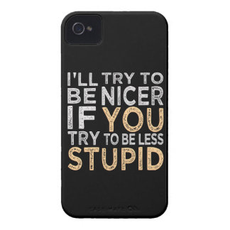 Intente ser Niza casamata de encargo del iPhone 4 iPhone 4 Case-Mate Coberturas