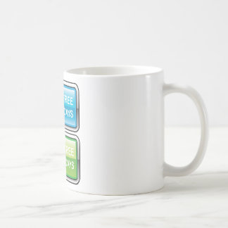 Inténtelo libremente para el botón de 30 días taza