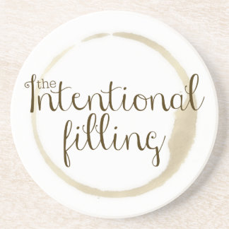 Intentional Filling Coaster