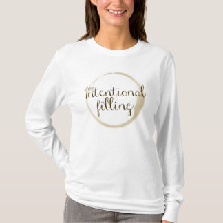 Intentional Filling Logo Long Sleeved Tee