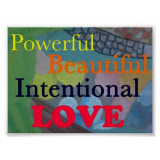 Intentional Love Poster