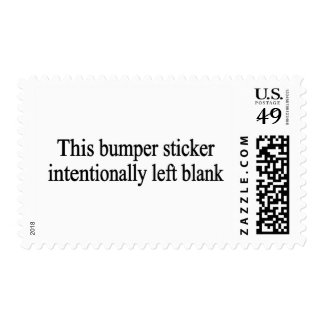 Intentionally Left Blank Postage