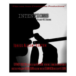 Intentions Poster