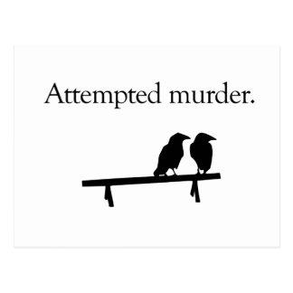 Intento de asesinato postales