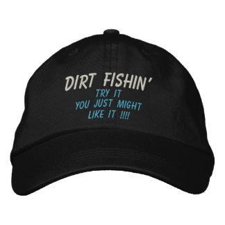 ¡Intento de la SUCIEDAD FISHIN', usted acaba de po Gorro Bordado