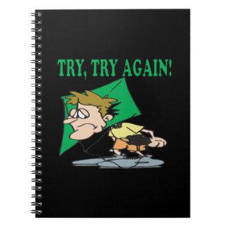 Intento del intento otra vez cuadernos