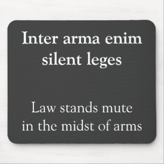 Inter arma enim mouse pad