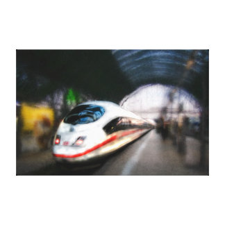 Inter-City-Express (ICE) Train Canvas Print