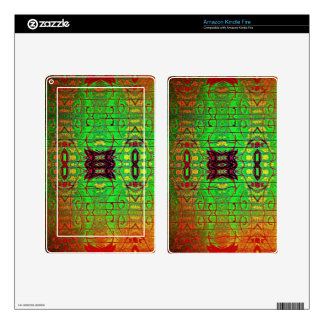 Inter Stellar Lines Skin For Kindle Fire