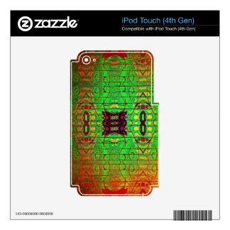 Inter Stellar Lines Skins For iPod Touch 4G