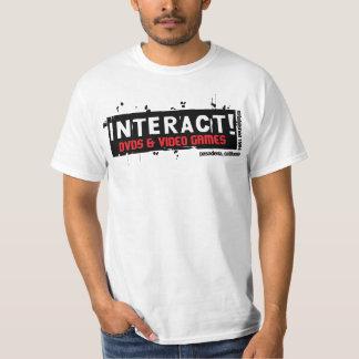 Interact! Value White $12.95 T-Shirt