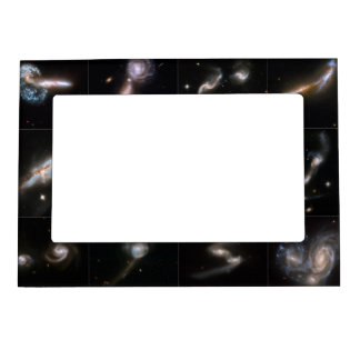 Interacting Galaxies (12) Magnetic Picture Frame