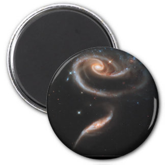 Interacting Galaxies ARP-273 2 Inch Round Magnet