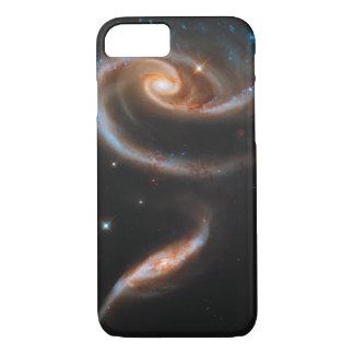 Interacting Galaxies Arp 273 UGC 1810 & 1813 iPhone 8/7 Case