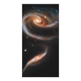 Interacting Galaxies Arp 273 UGC 1810 & 1813 Photo Card