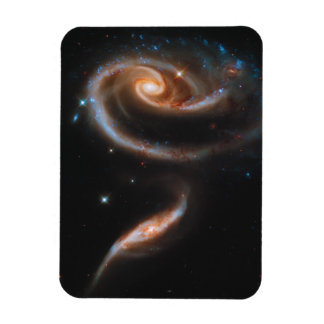 Interacting Galaxies Arp 273 UGC 1810 & 1813 Rectangular Photo Magnet