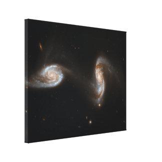 Interacting Galaxies Canvas Print