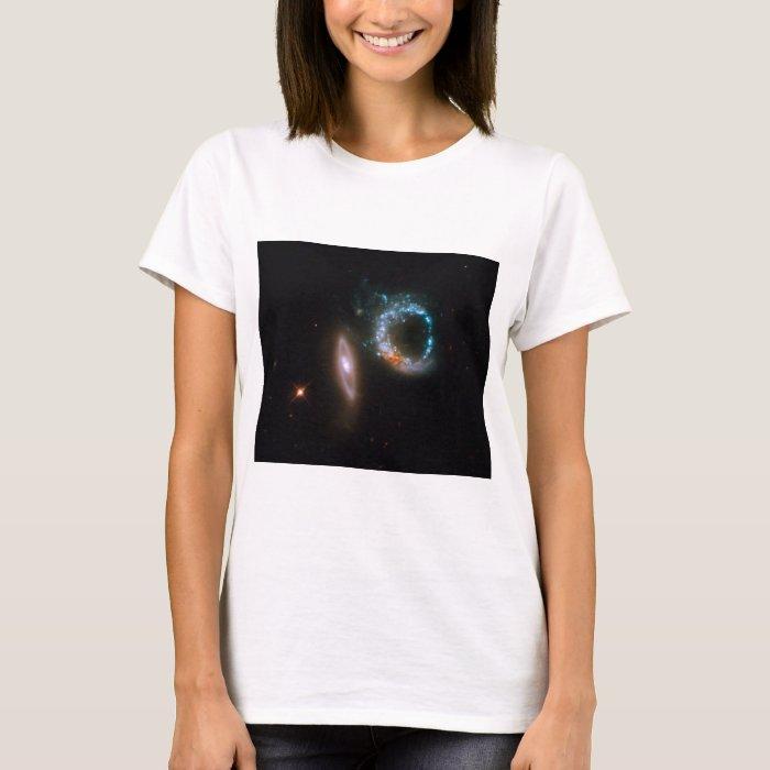 Interacting Galaxies Womens Shirt