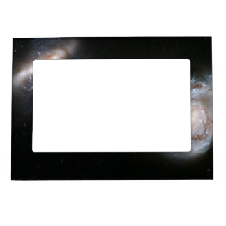 Interacting Galaxy Pair Arp 87 Magnetic Photo Frame