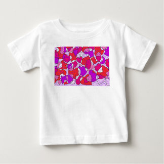 interactions of hearts baby T-Shirt
