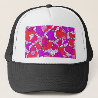 interactions of hearts trucker hat