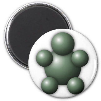 Interactive Buddy 2 Inch Round Magnet