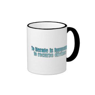 Interate Human Recurse Devine Coffee Mug