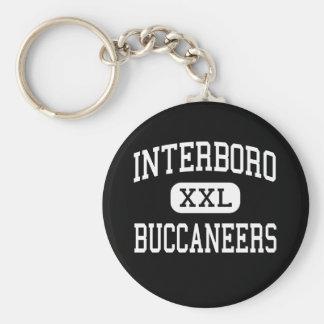 Interboro - Buccaneers - altos - parque de la pers Llavero Redondo Tipo Pin